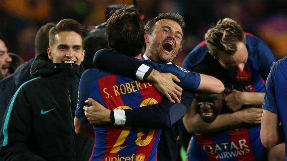 «Барселона» вийшла у чвертьфінал Ліги чемпіонів