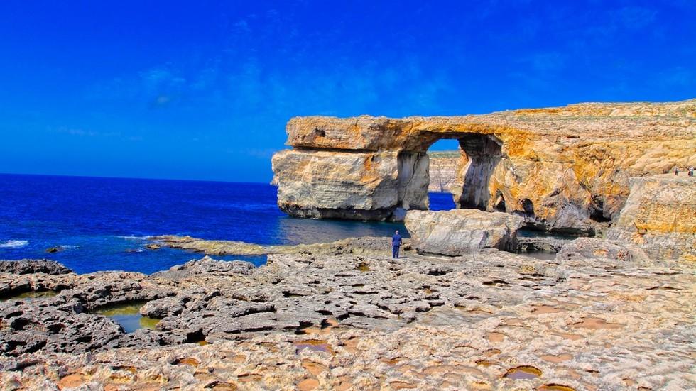 Лазурне вікно на Мальті впало в море