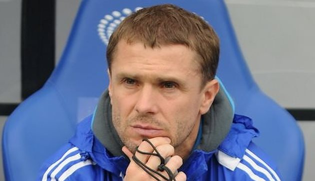 Сергій Ребров покинув пост тренера київського Динамо