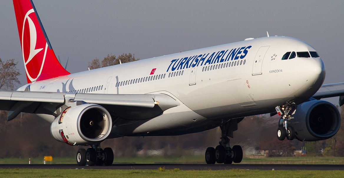 Турецький літак екстрено сів в Каїрі
