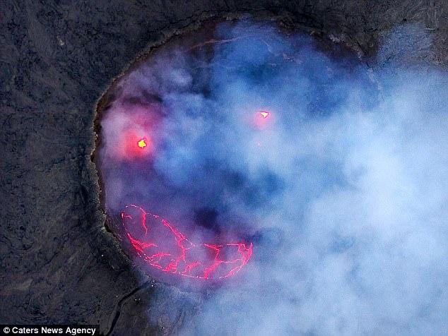 Ефіопський вулкан посміхнувся - фото